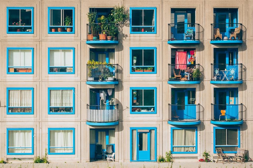 balkony bytu