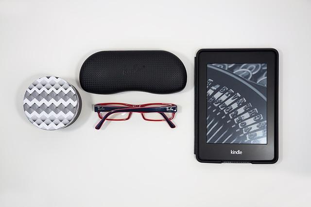 brýle a e-book