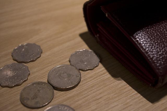 peněženka, mince s vlnitým okrajem.jpg
