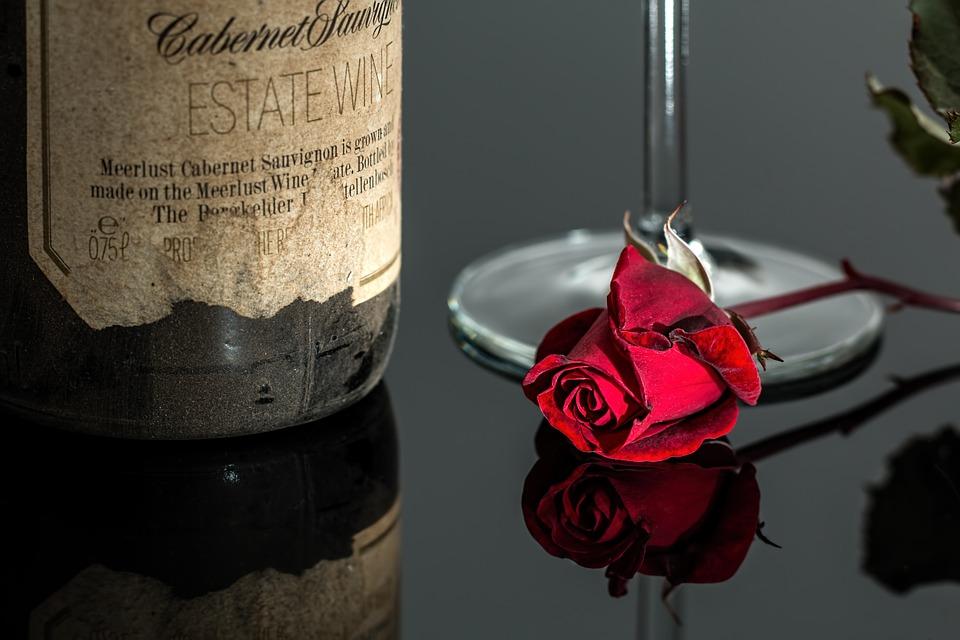 novoroční etikety na víno